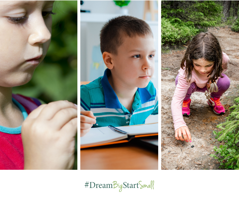#DreamBigStartSmall What Will Your Kid(s) Say About Their Future?