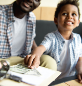 3 Magic Words for Teaching Kids about Money